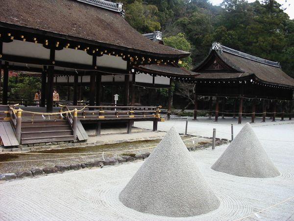 上賀茂神社 立砂