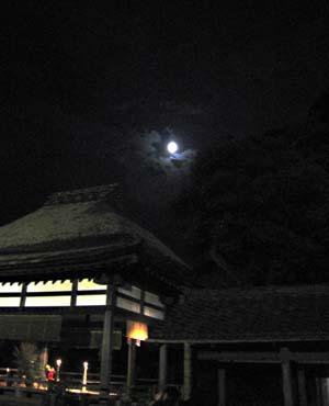 石山寺 中秋の名月