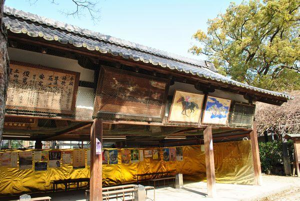 藤森神社 絵馬堂