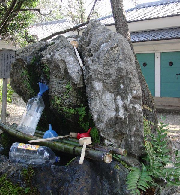 藤森神社 不二の水