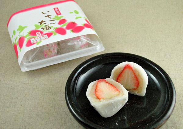 与楽のイチゴ大福は美味しいの?