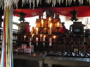 伏見稲荷 熊鷹社拝殿