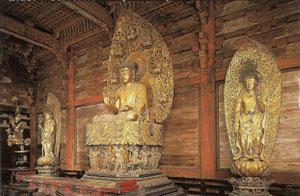 東寺 薬師三尊像