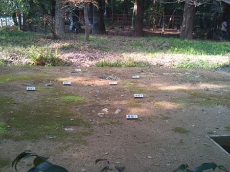 糺の森 祭祀跡