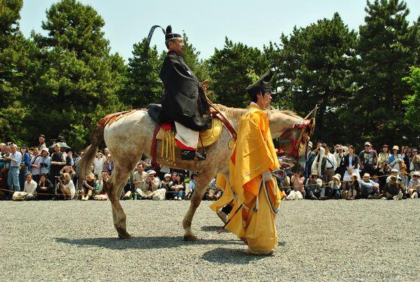 葵祭 勅使