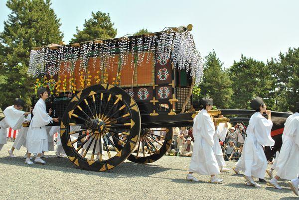 葵祭 牛車