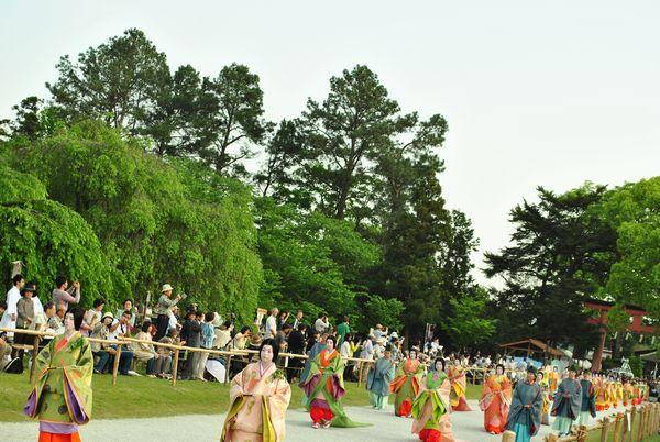 葵祭 女性行列