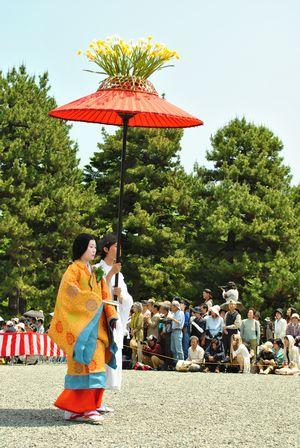 葵祭 女性