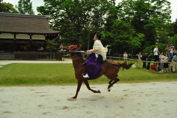 葵祭 走馬の儀