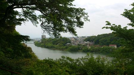 石山寺 景色
