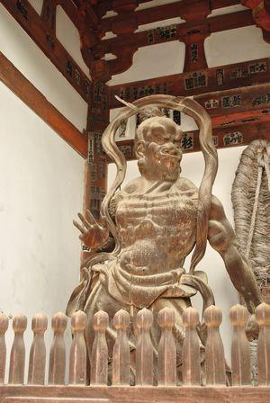 石山寺 仁王像