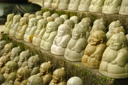 今熊野観音寺 身代わり石仏