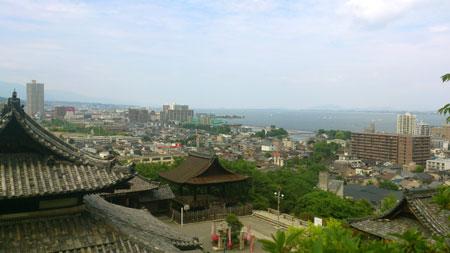 三井寺 琵琶湖