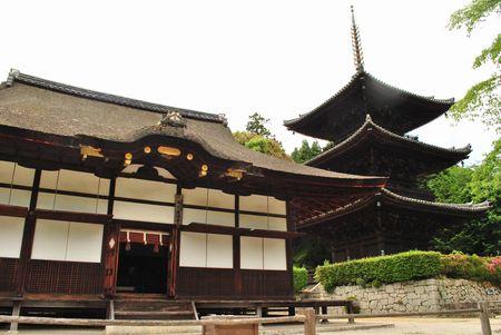 三井寺 三重塔
