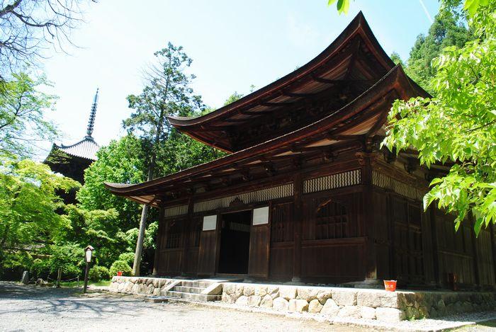 三井寺 一切経蔵