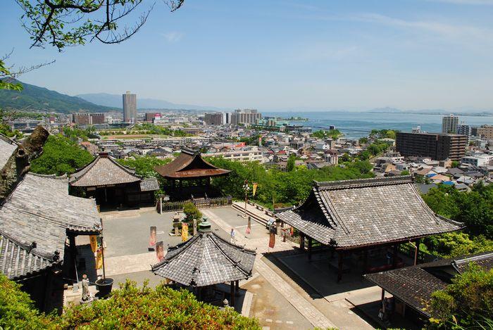 三井寺 景色