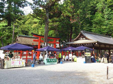 吉田神社 広場
