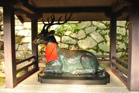 吉田神社 神鹿