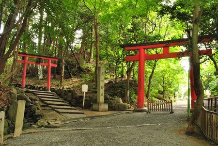菓祖神社 入口