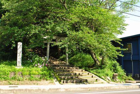 桧山神社 鳥居