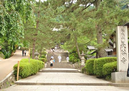 長谷寺 門前