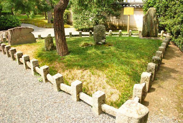 平等院 扇の芝