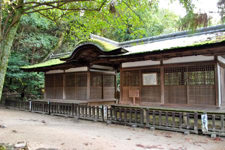 出雲建雄神社 拝殿