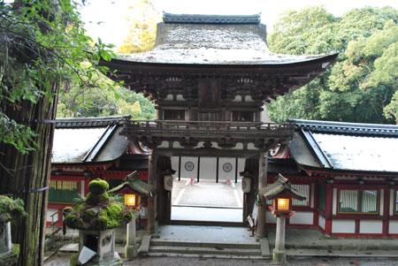 石上神宮 楼門