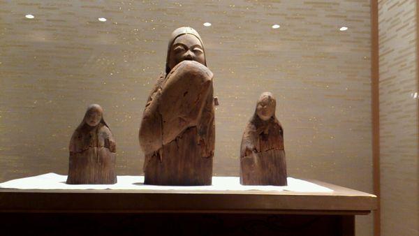 建部大社 女神像