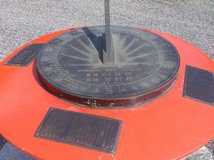近江神宮 日時計