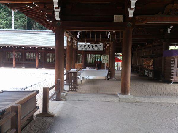 近江神宮 回廊
