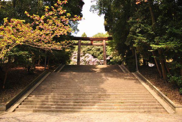近江神宮 第二鳥居