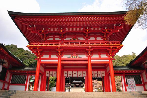 近江神宮 楼門
