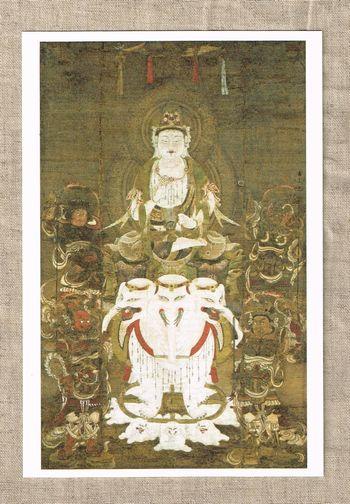 普賢延命菩薩像