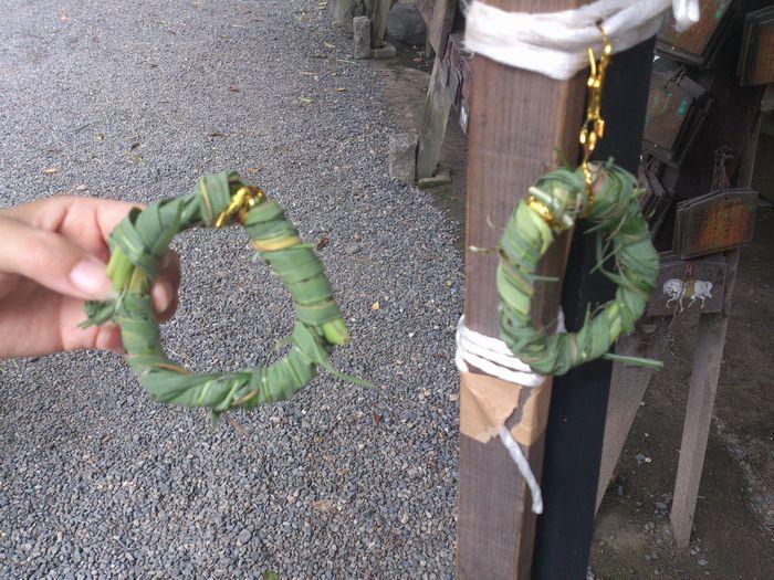 ミニ茅の輪