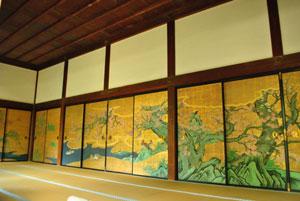 大覚寺 狩野山楽 襖絵