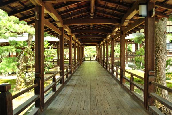 大覚寺 稲妻の廊下