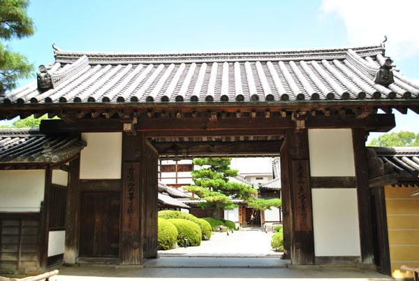 大覚寺 表門