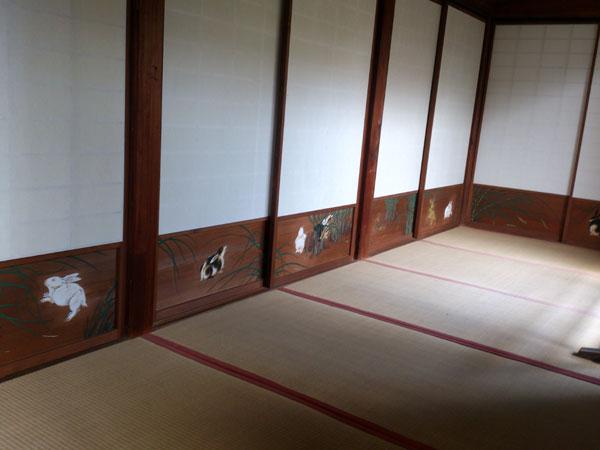 大覚寺 野兎