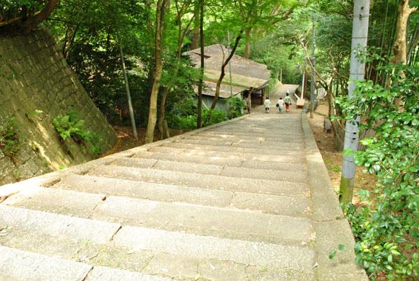 石清水八幡宮 階段