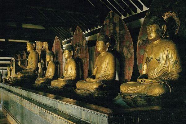 浄瑠璃寺 九体阿弥陀
