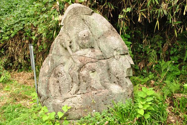 浄瑠璃寺 水呑み地蔵