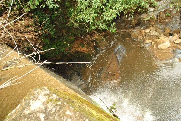 当尾 奥の院 滝