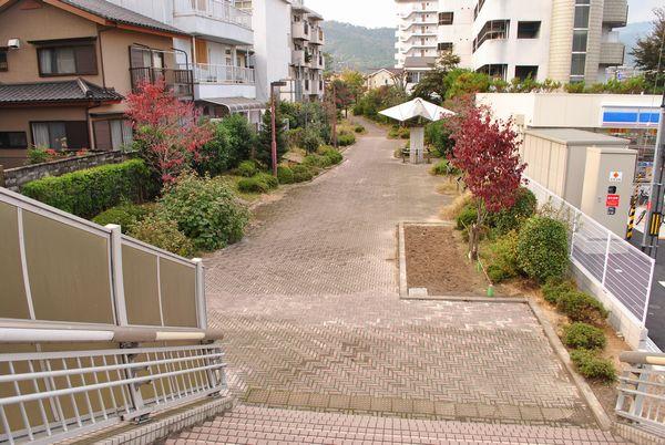 大津絵の道 遊歩道