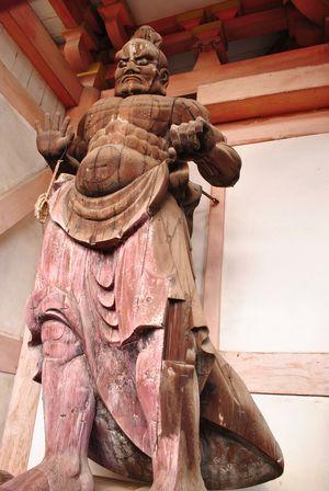 藤井寺 金剛力士