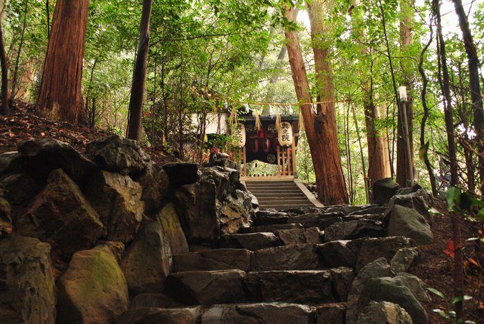 立木観音 奥の院