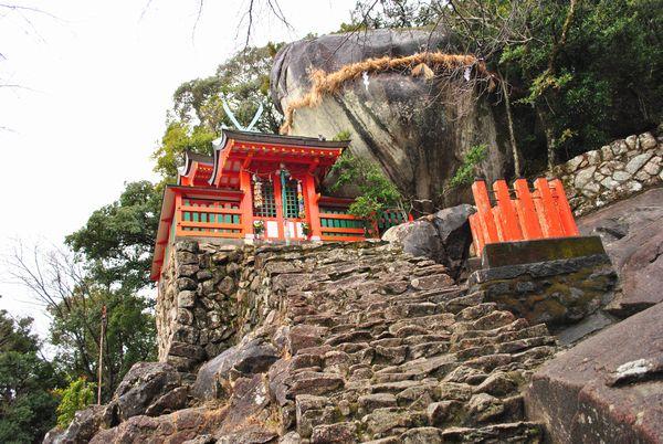 神倉神社 ゴトビキ岩