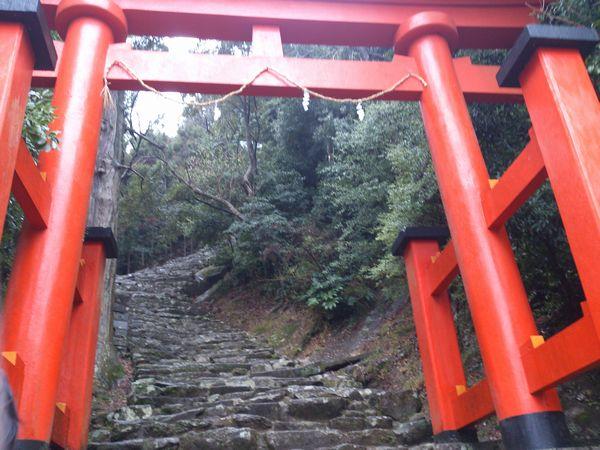 神倉神社 階段