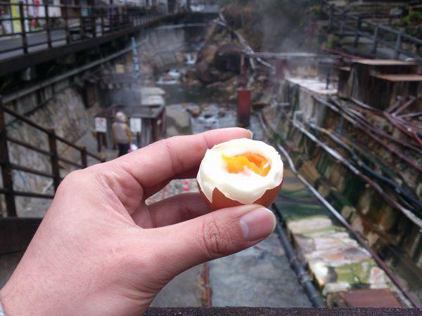 湯の峰温泉 温泉卵