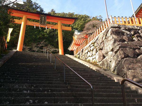 熊野那智大社 第二鳥居